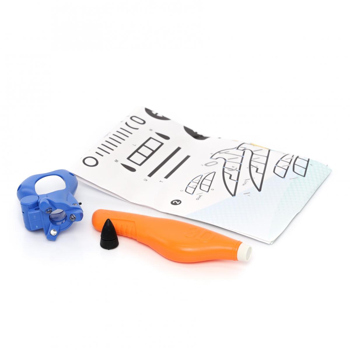 "3D ручка с картриджем ""ХоббиХИТ"" 1"