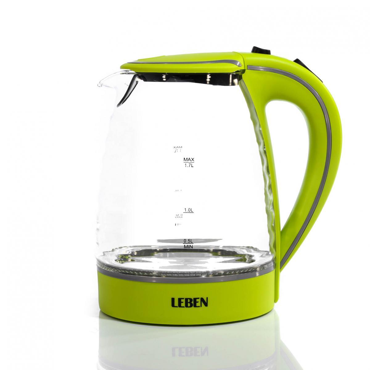 "Чайник электрический с LED-подсветкой ""Leben"" 1.7 л 0"
