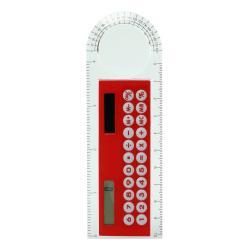 Калькулятор-линейка с лупой и транспортиром