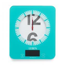 """Кухонные весы со встроенными часами """"Leben"""""""